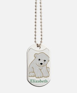 Baby Polar Bear Dog Tags