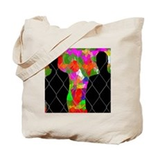 Observing Abstract Art Tote Bag