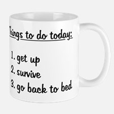 Things To Do Today Mugs