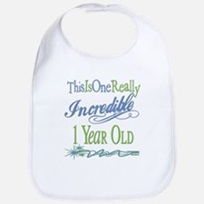 Incredible 1st Birthday Bib