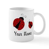 Ladybug Standard Mugs (11 Oz)