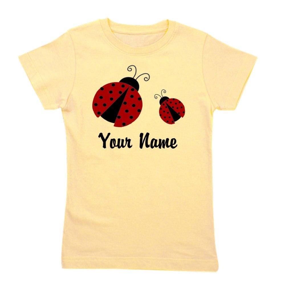 CafePress Ladybugs Red Personalized Girl's Tee