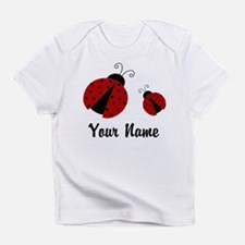 Ladybugs Red Personalized Infant T-Shirt
