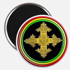 ethipia cross rasta performance jacket Magnet