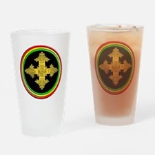 ethipia cross rasta performance jac Drinking Glass