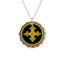 ethipia cross rasta performa Necklace