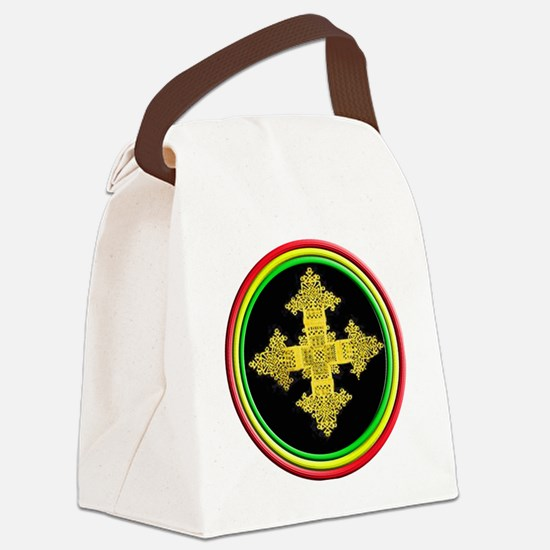 ethipia cross rasta performance j Canvas Lunch Bag