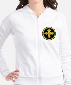 ethipia cross rasta performance jacket Fitted Hoodie