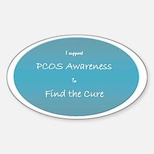 pcos awareness Decal