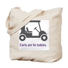 Golf_Carts_purple Tote Bag