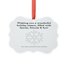 SPN Xmas Card Inside Ornament
