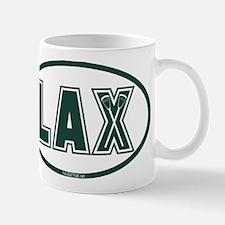 Lacrosse Lax Oval Green Mug