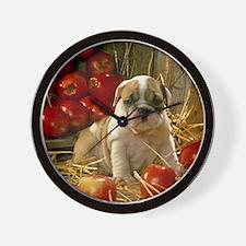 BD Apples mousepad Wall Clock
