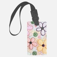 flwr_quilted Luggage Tag