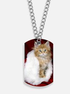 SH Kitty oval orn Dog Tags