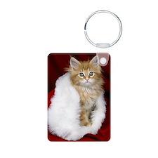 SH Kitty oval orn Keychains
