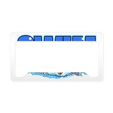SwimXmas2 License Plate Holder