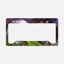 Guinea pigs, Watson and Sophi License Plate Holder