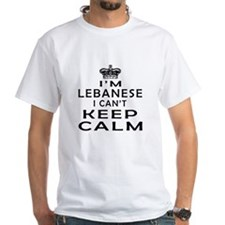 I Am Lebanese I Can Not Keep Calm Shirt