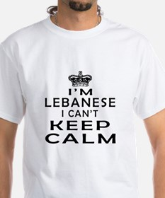 I Am Lebanese I Can Not Keep Calm Shirt