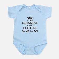 I Am Lebanese I Can Not Keep Calm Onesie