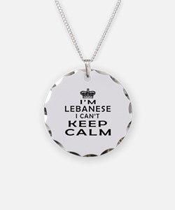 I Am Lebanese I Can Not Keep Calm Necklace