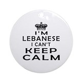 Lebanese Round Ornaments