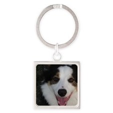Malcolm Square Keychain