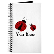 Ladybugs Red Personalized Journal