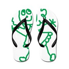 Greengirl Flip Flops