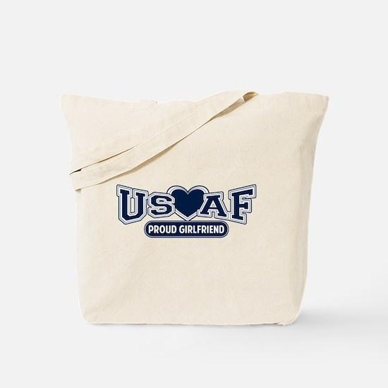 Air Force Girlfriend Tote Bag
