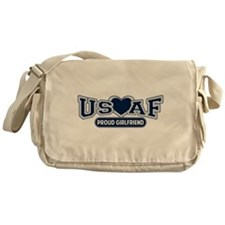 Air Force Girlfriend Messenger Bag