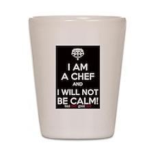 I Am A Chef Shot Glass