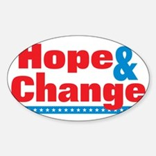 Hope  Change for Dark Decal