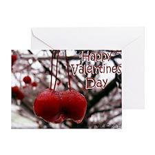card V day crabapples Greeting Card