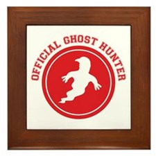 Ghost Hunter Framed Tile