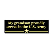 Cute Military family Car Magnet 10 x 3