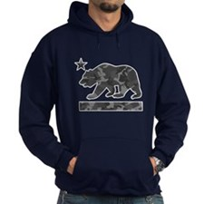 California Flag Bear (Urban Camo) Hoodie