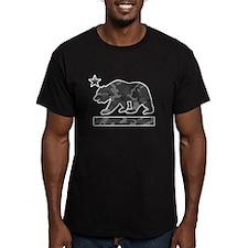 California Flag Bear (Urban Camo) T-Shirt