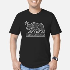 California Flag Bear (Urban Camo) T-Shirt