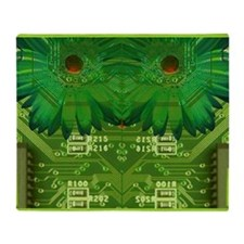 The Art of the Circuit Board Throw Blanket