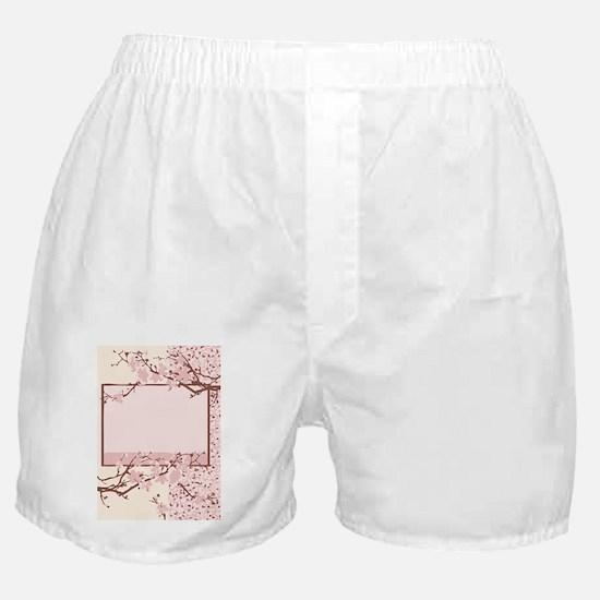 light pink cherry-blossom Boxer Shorts