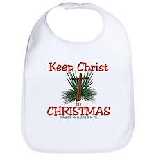 KEEP CHRIST IN CHRISTMAS Bib