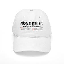 mug-none-exist-tagline-explanation-tag-V2 Baseball Cap