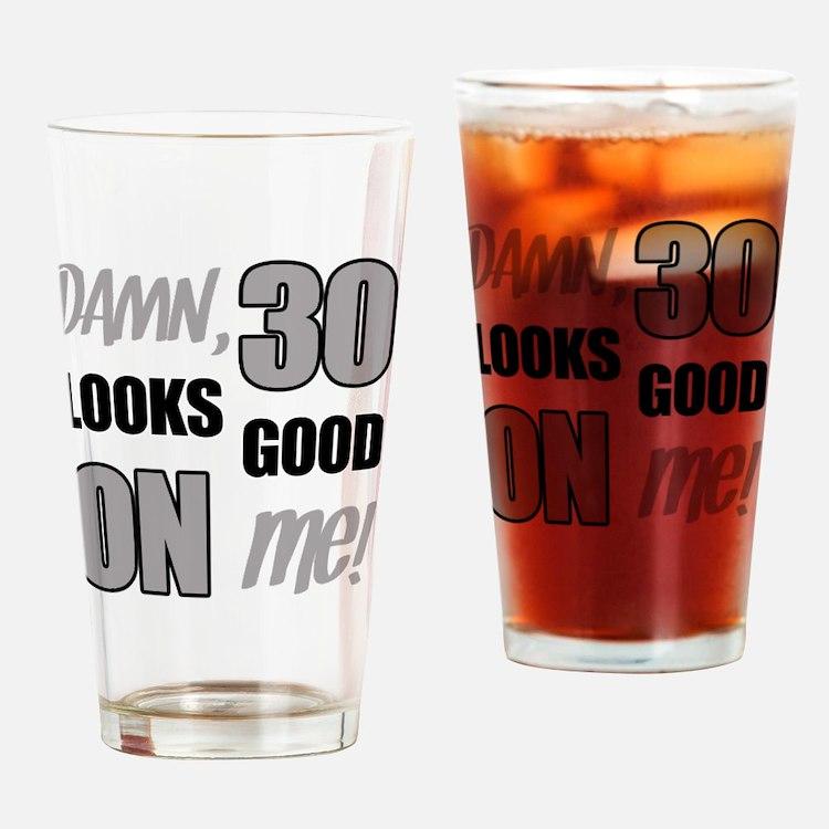 Funny 30th Birthday (Damn) Drinking Glass