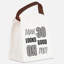 Funny 30th Birthday (Damn) Canvas Lunch Bag