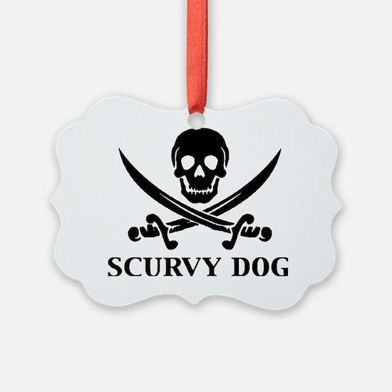 Scurvy Dog Ornament
