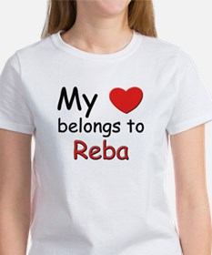 My heart belongs to reba Women's T-Shirt