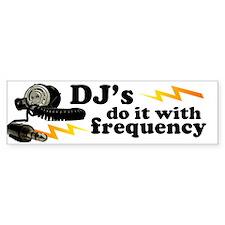Frequency Bumper Bumper Sticker
