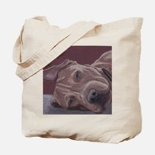DogTired-square Tote Bag